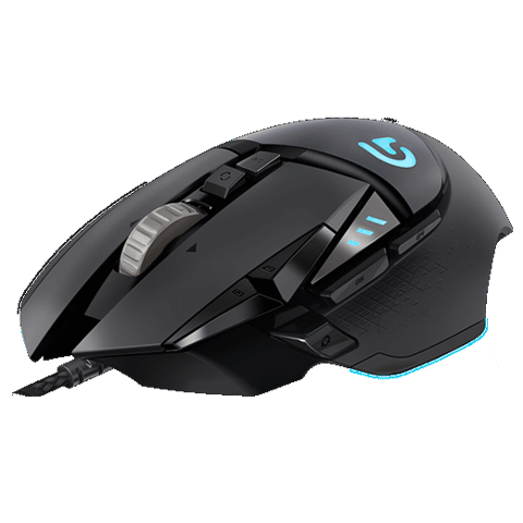 Chuột Gaming Logitech G502 Proteus Spectrum Tunable Đen