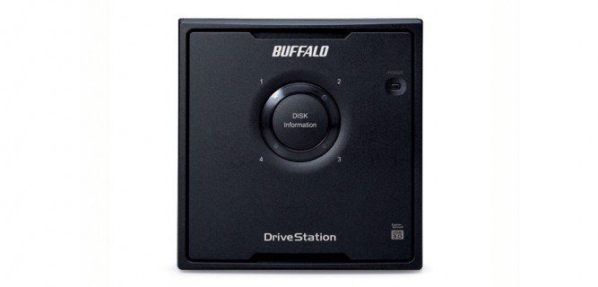 HDD BOX BUFFALO HD-QLU3