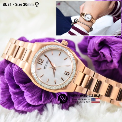 BULOVA LADIES WATCH - BU81