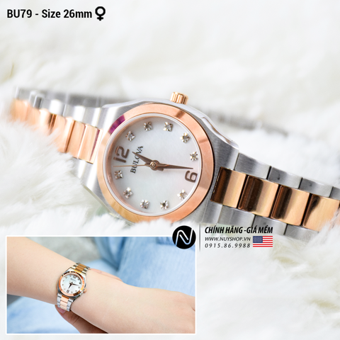 BULOVA LADIES WATCH - BU79
