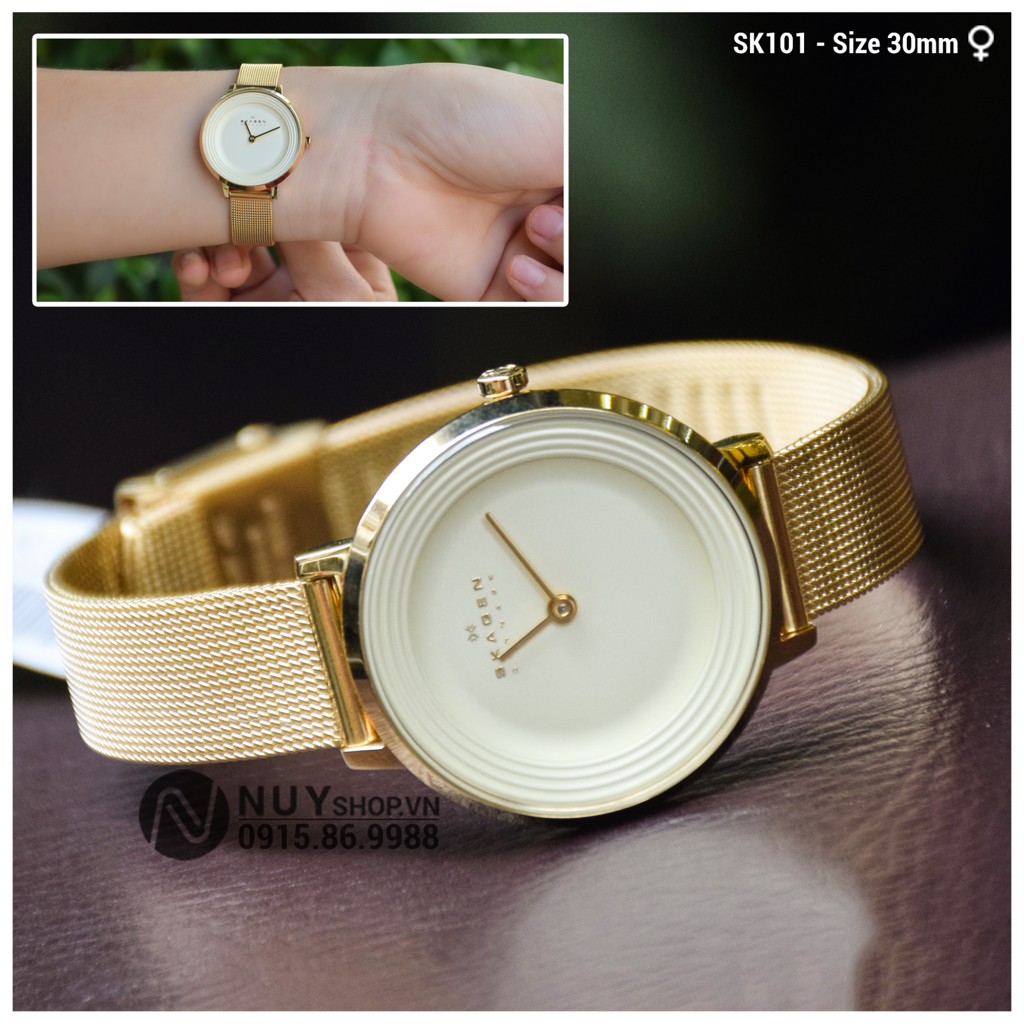 SKAGNE LADIES WATCH - SK101