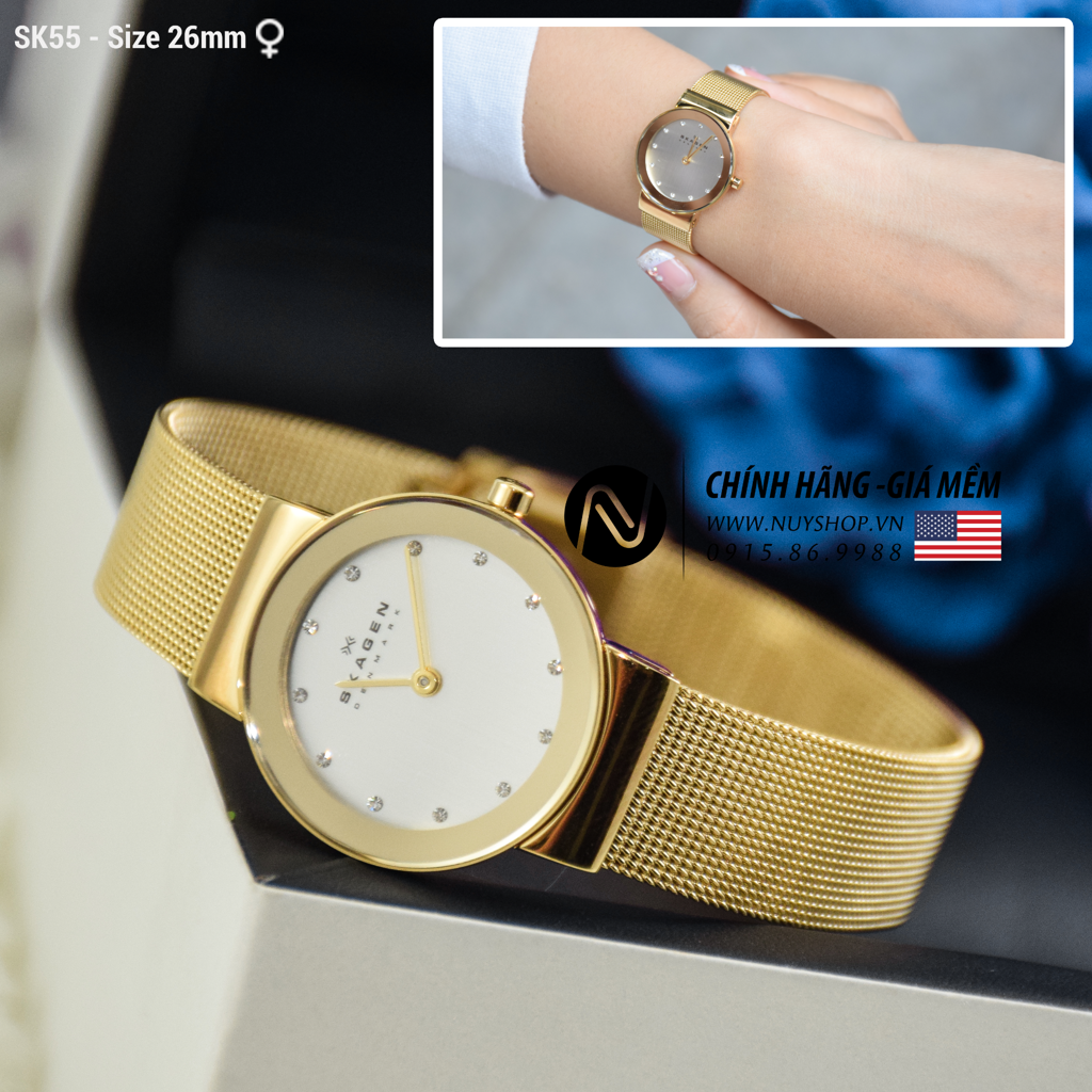 SKAGEN LADIES WATCH - SK55