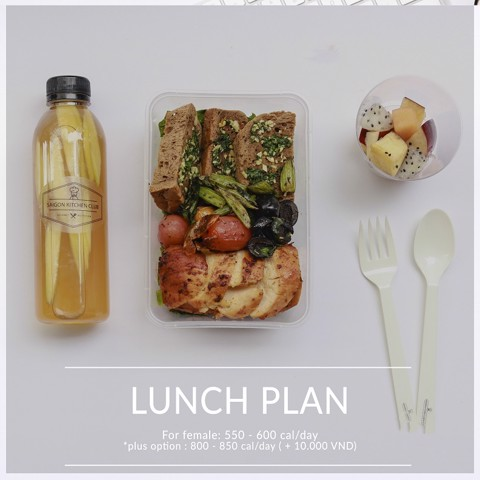 Lunch Package (Male Portion)