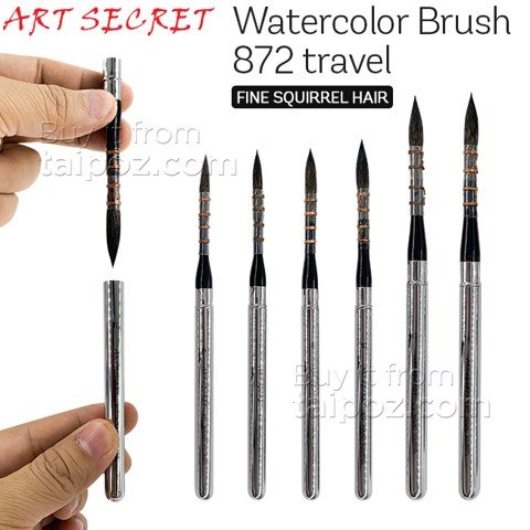 Cọ lông sóc Art Secret 872 Travel Brush