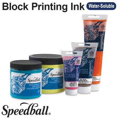 Mực in block-printing Speedball Water-soluble