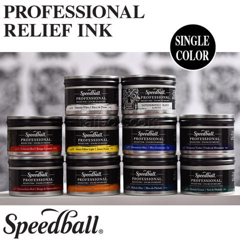 Mực in khắc nổi Speedball Professional Relief Ink