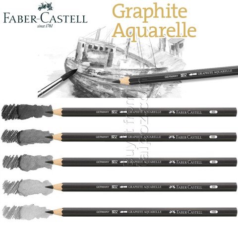 Chì nước Faber Castell Watercolor Graphite
