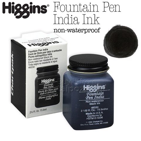 Mực Higgins India Fountain Pen