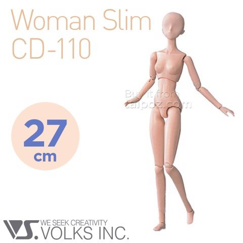 Volks Doll Slim - Nữ gầy (CD-110)