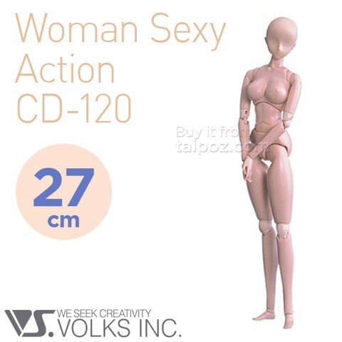 Volks Action Doll - Nữ sexy action (CD-120)