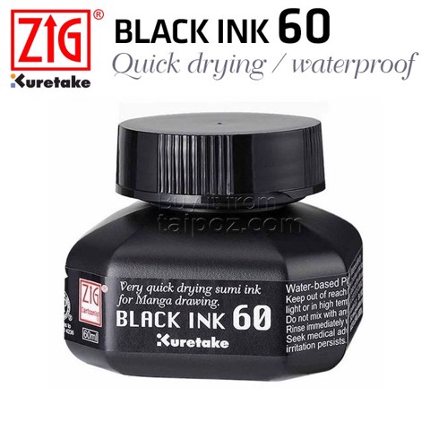 Mực ZIG Black Ink 60