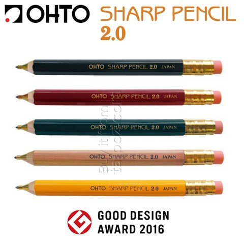 Bút chì bấm Ohto Sharp Pencil 2.0mm