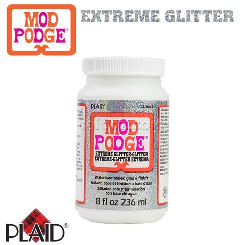 Keo đa dụng bổ sung kim tuyến Mod Podge - Extremely Glitter