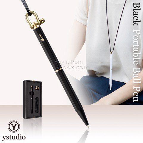 Bút bi Ystudio Portable - Black