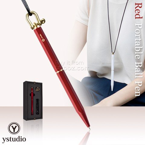 Bút bi Ystudio Portable - Red