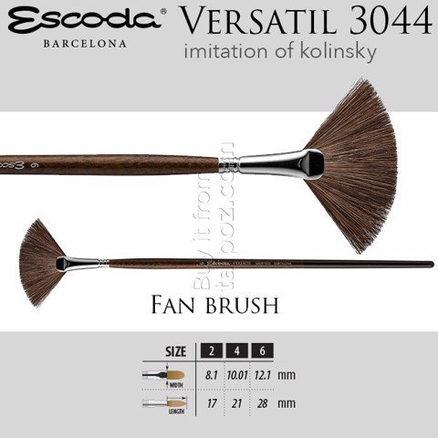 Cọ màu nước Escoda Versatil 3044 - fan brush