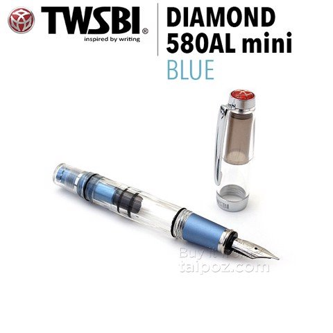 Bút máy TWSBI Diamond Mini AL - Blue