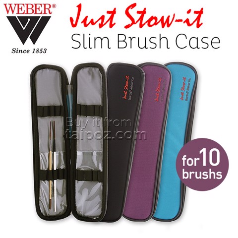 Túi đựng cọ Just Stow-It Slim Brush Case