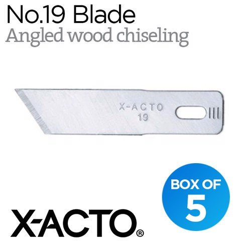 Lưỡi dao X-acto no.19 (angled wood chiseling)