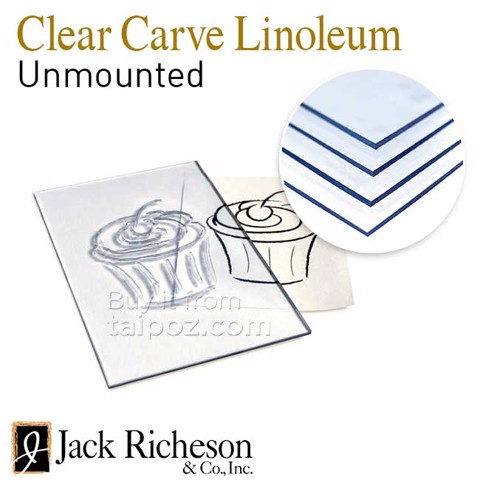 Chất liệu khắc trong suốt Jack Richeson Clear Carve