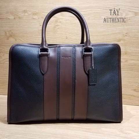Túi COACH BOND BRIEF IN PEBBLE LEATHER