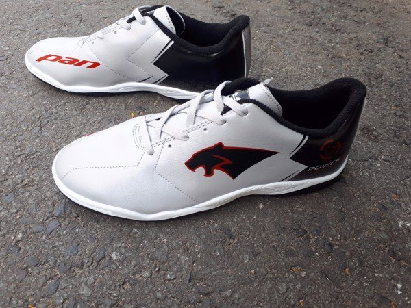 Giày Futsal Pan Power 2 IC (Xám)