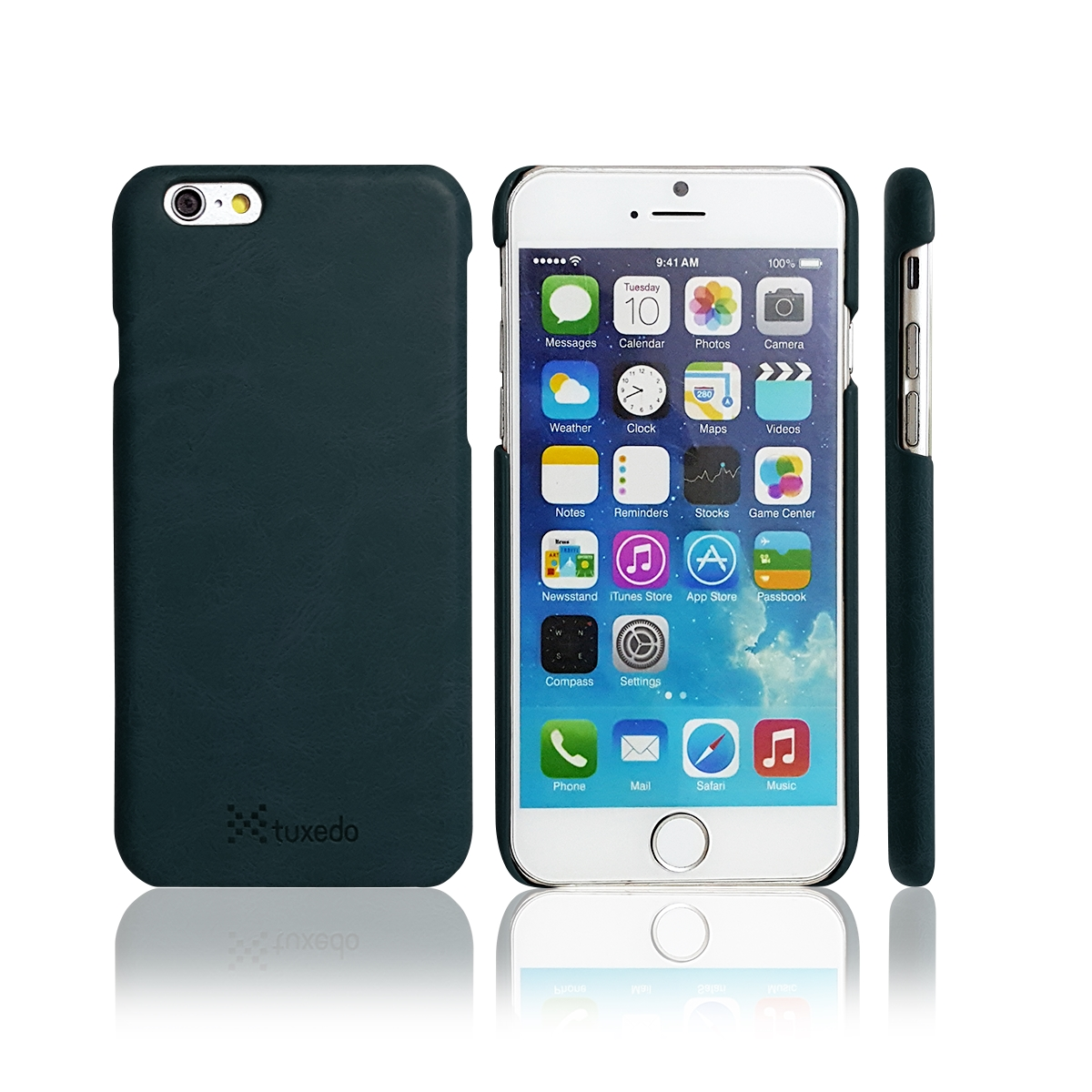 Ốp lưng da iPhone 6/6S Tuxedo, da PU cao cấp, cứng cáp, chống va đập, biến dạng
