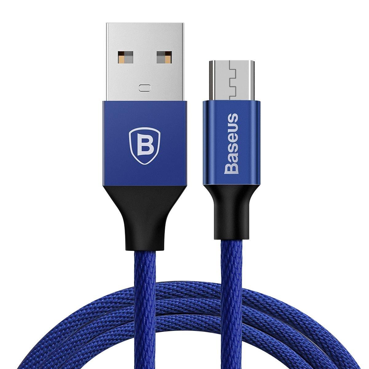 Cáp sạc điện thoại Baseus Yiven Micro USB, bọc dù, dài 1.5m