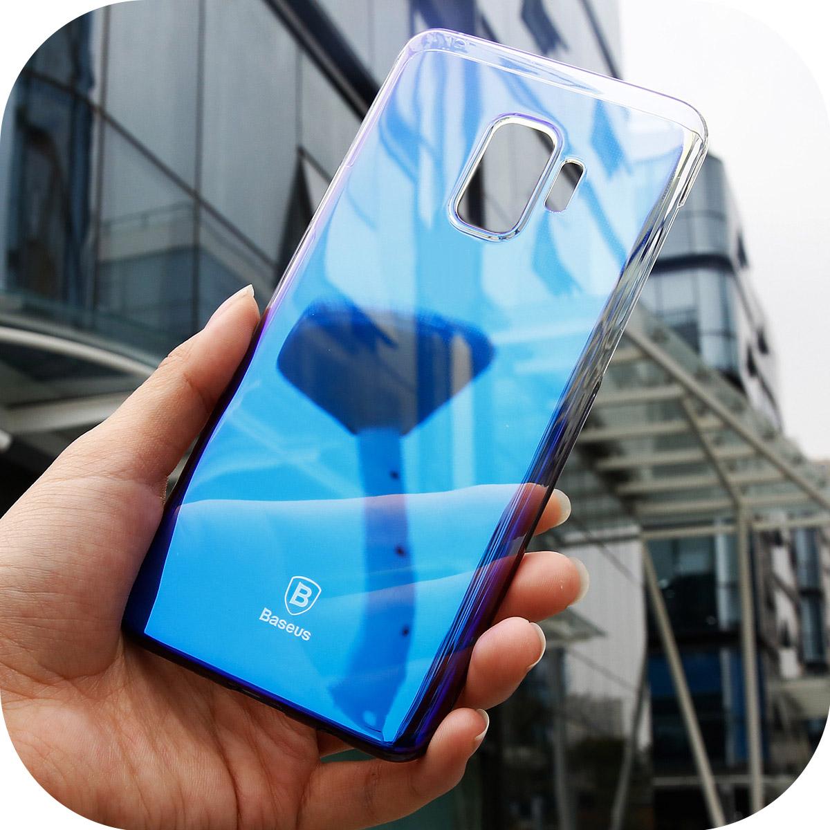 Ốp lưng Samsung Galaxy S9 Baseus Glaze chống va đập, trầy xước