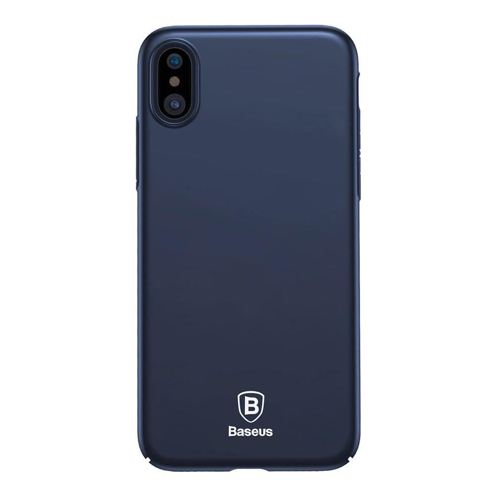 Ốp lưng iPhone X Baseus Thin nhựa cứng cao cấp, siêu mỏng