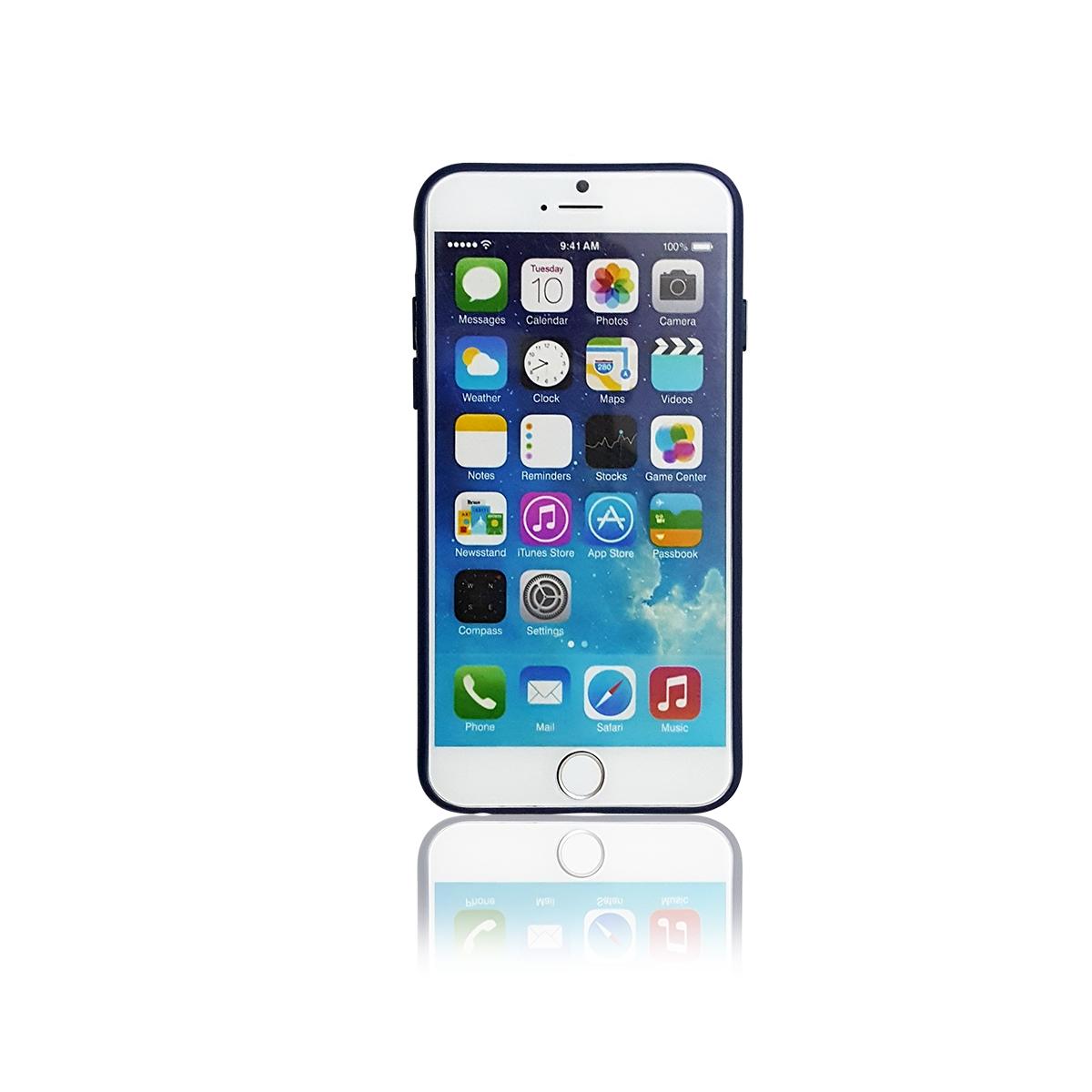Ốp lưng iPhone 6/6S Plus, Tuxedo Frosted, nhựa cao cấp, đàn hồi, chống va đập