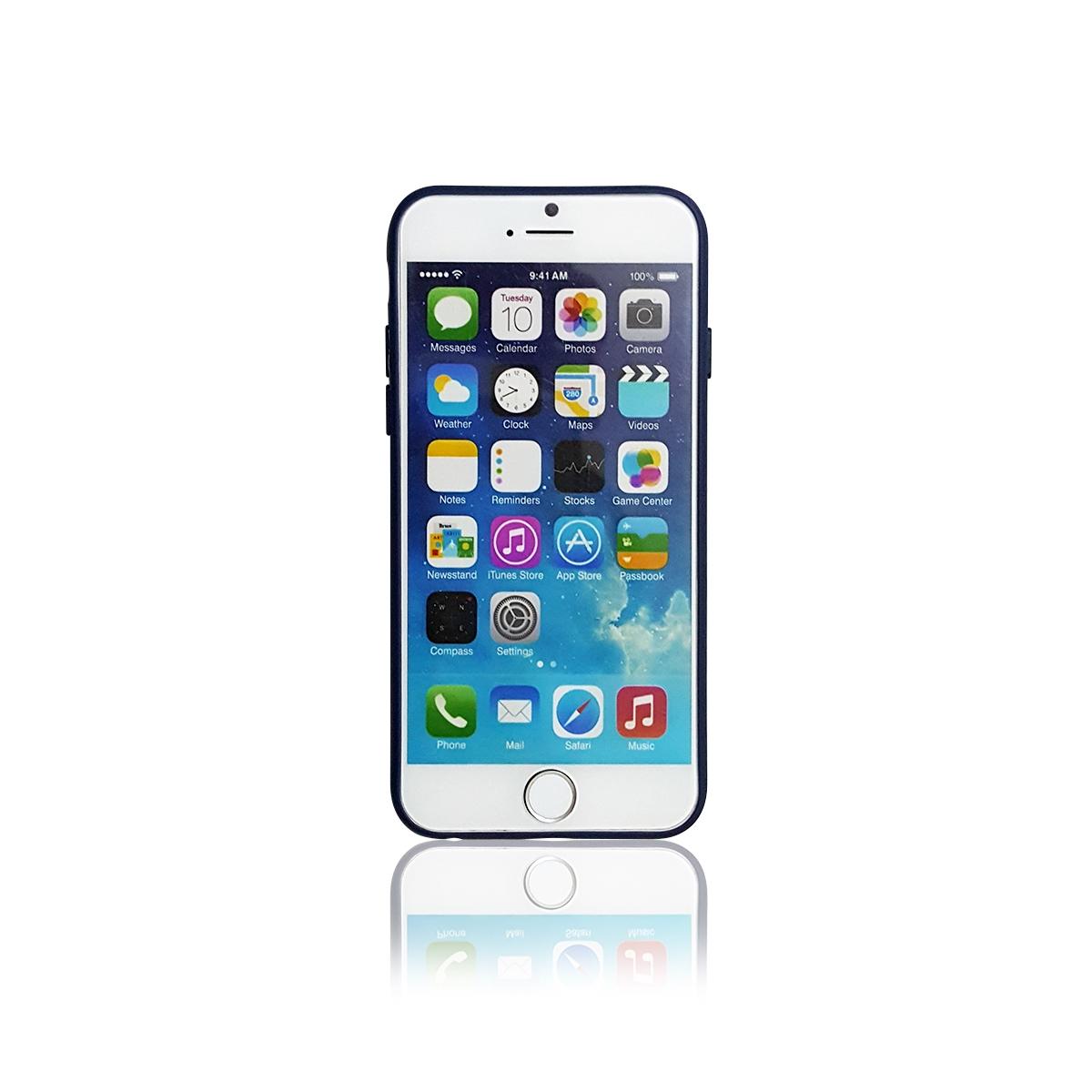 Ốp lưng iPhone 6/6S, Tuxedo Frosted, nhựa cao cấp, đàn hồi, chống va đập