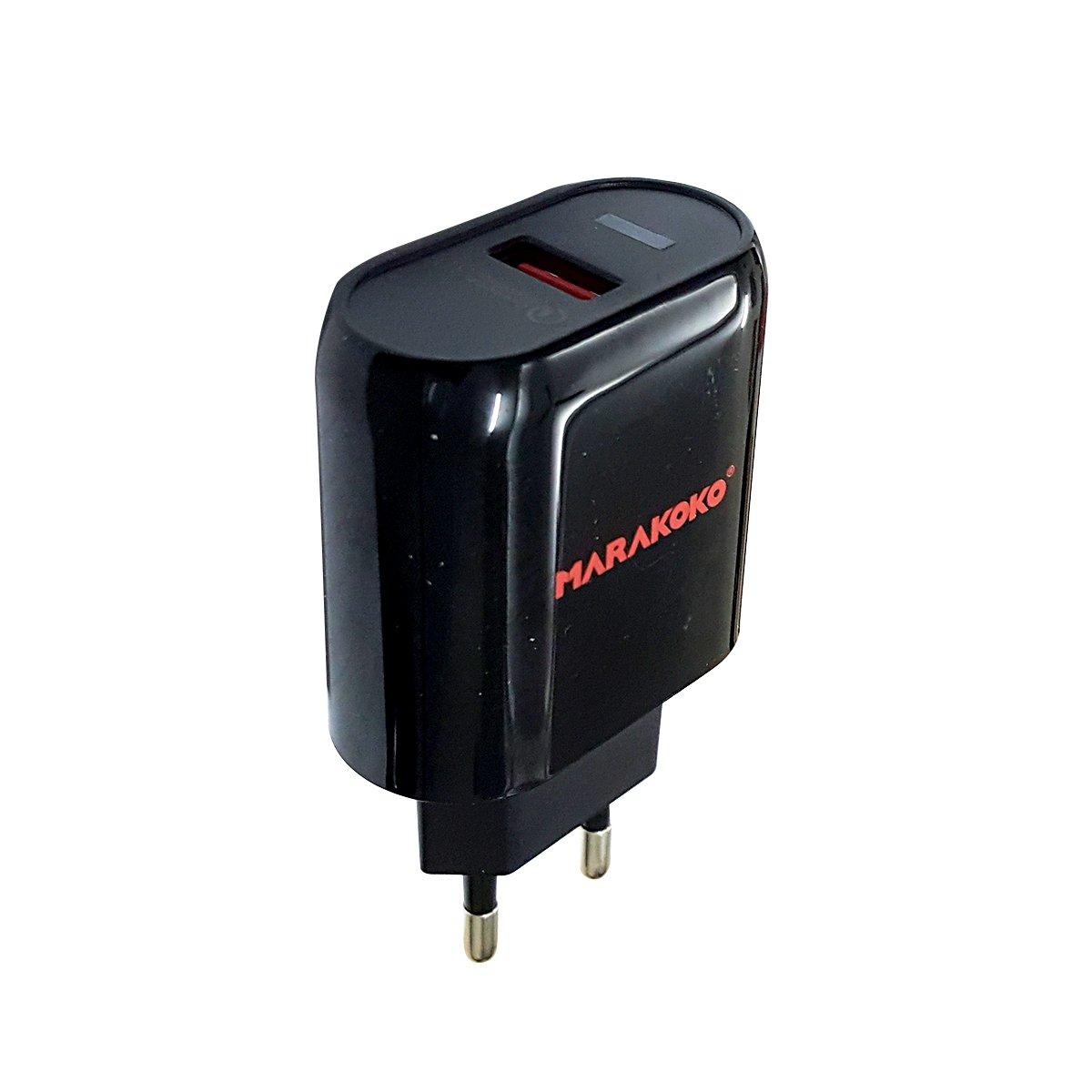 Sạc điện thoại Marakoko MA15, 1 cổng Quick Charge 3.0, 18W