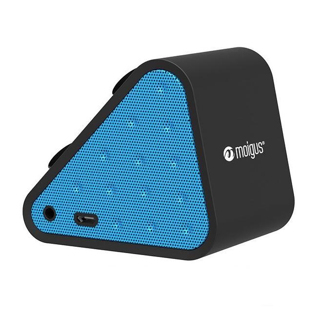 Loa Bluetooth Moigus Blue A1 tích hợp mic, công nghệ Bluetooth v4.0