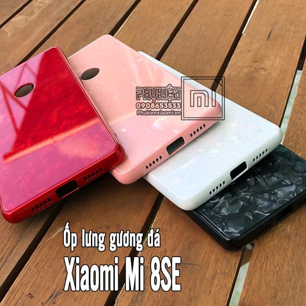 Ốp Lưng Xiaomi Mi 8 Se Mặt Gương đ 225 Cẩm Thạch Phụ Kiện