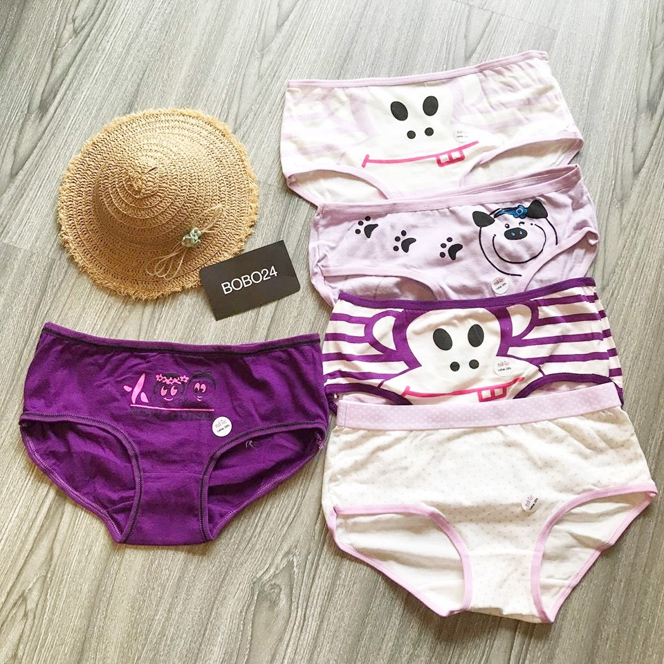 SET QUẦN CHIP CUTE TÍM