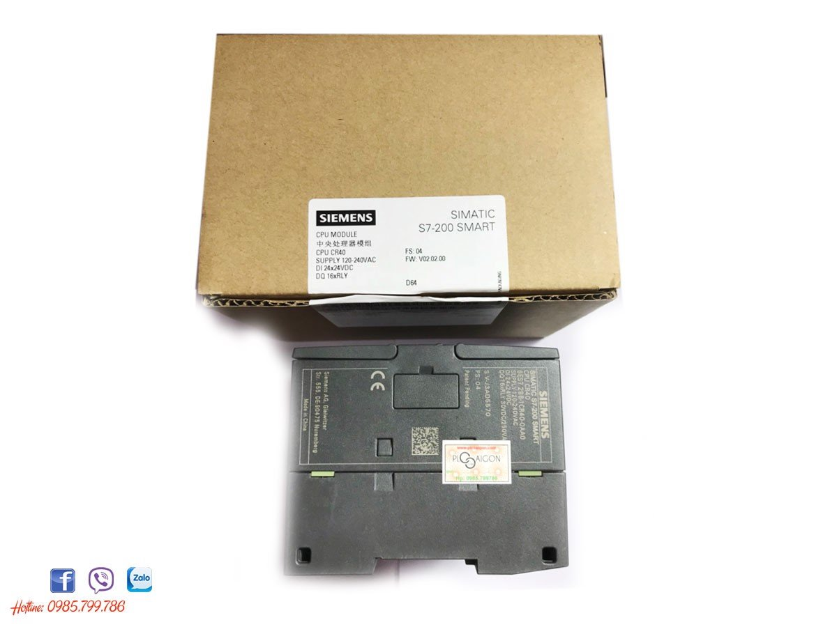 PLC Siemens S7-200 Smart CPU CR40-6ES7288-1CR40-0AA0
