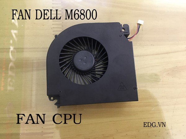 Fan CPU Laptop Dell M6800