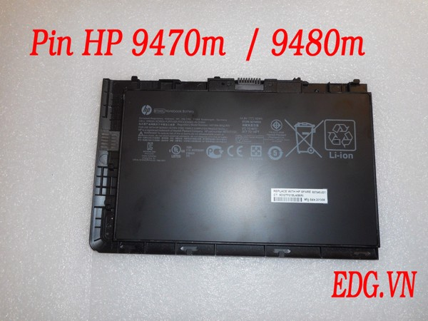 Pin Laptop HP 9470m , 9480m