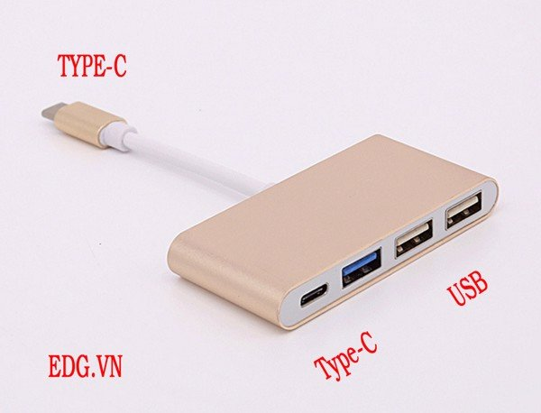 Cáp type-C to USB HUB Type-C