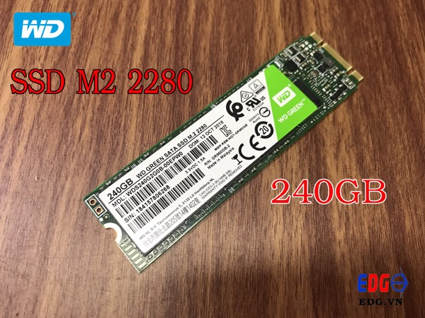 Ổ cứng SSD 240Gb M2 2280 WD GREEN
