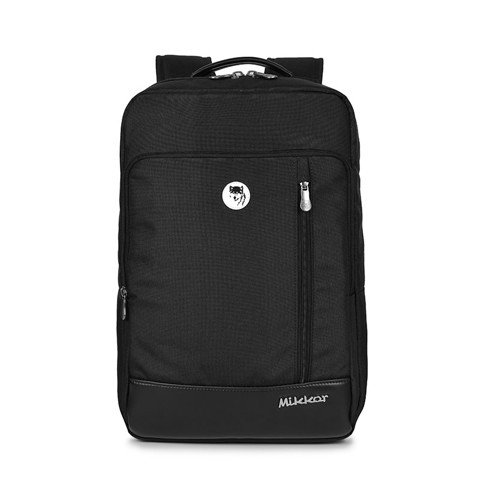 Mikkor The Ralph Backpack Black