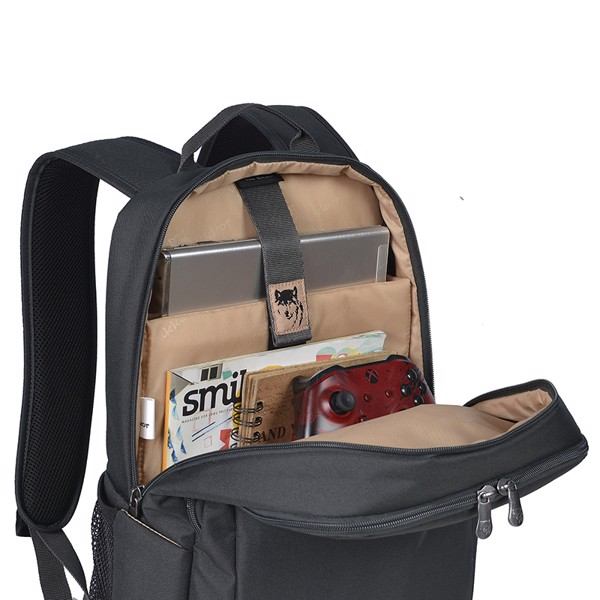 Chi tiết Balo The Edwin Backpack Charcoal