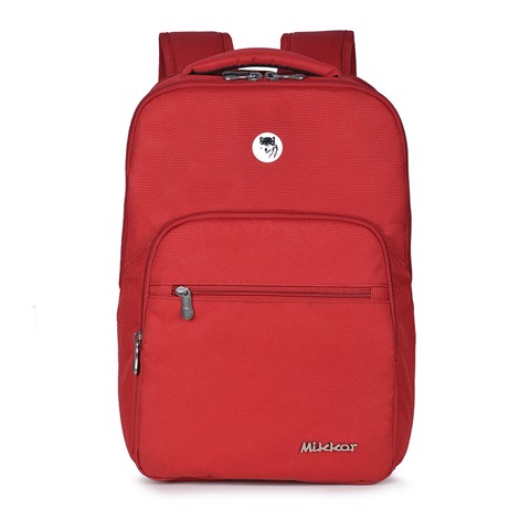 Balo Laptop Mikkor The Maddox Red