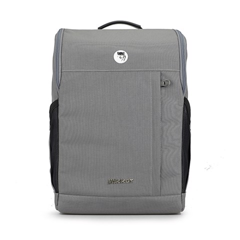 Balo Laptop Mikkor The Lewis Dark Mouse Grey