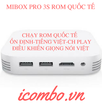 TV BOX XIAOMI MIBOX PRO 3S (ANDROI BOX )