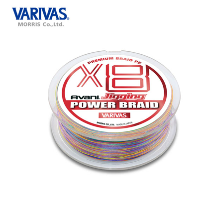 Varivas avani jigging power braid X8 ( Dây PE )