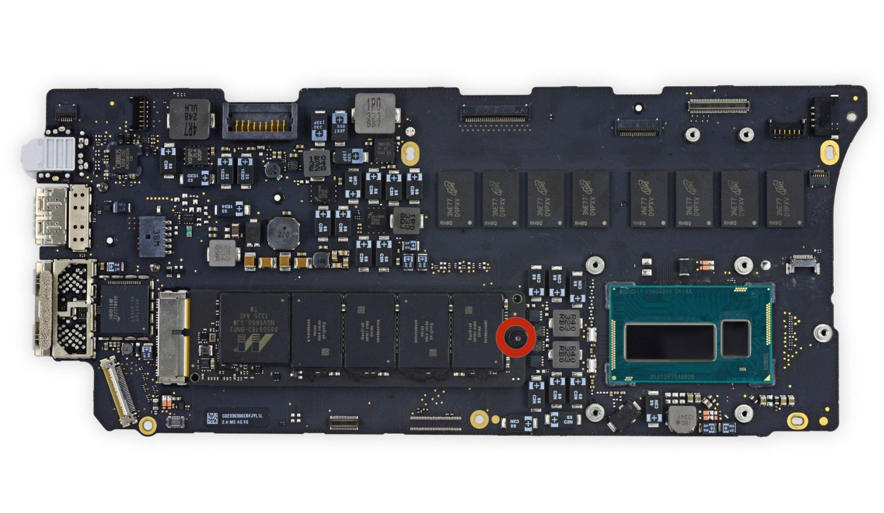 Mainboard Macbook ME865 late 2013 A1502 13.3 inch