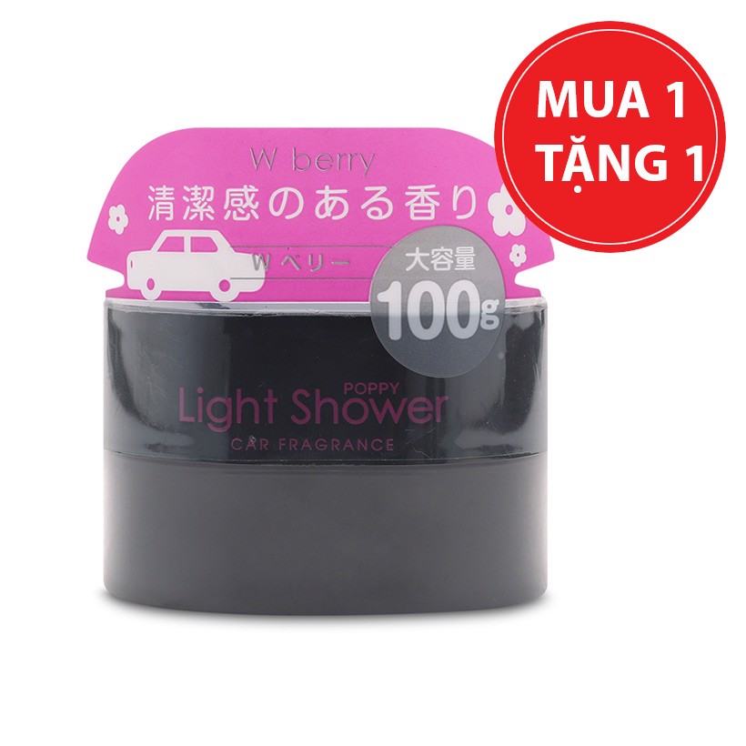 Sáp thơm ô tô Diax Light Shower Poppy mùi W Berry