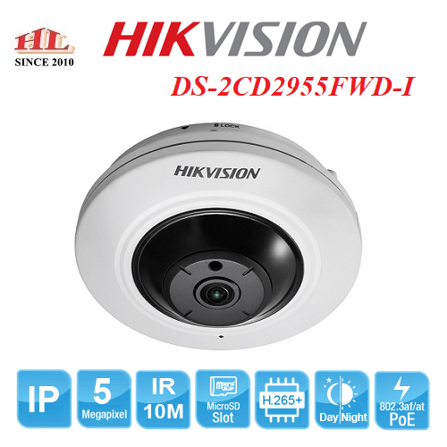 CAMERA IP 5MP HIKVISION DS-2CD2955FWD-I